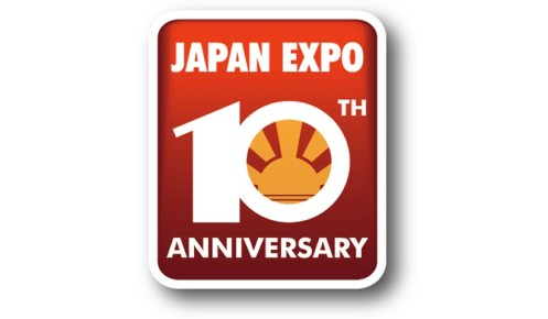 Japan Expo logo 10 ANS